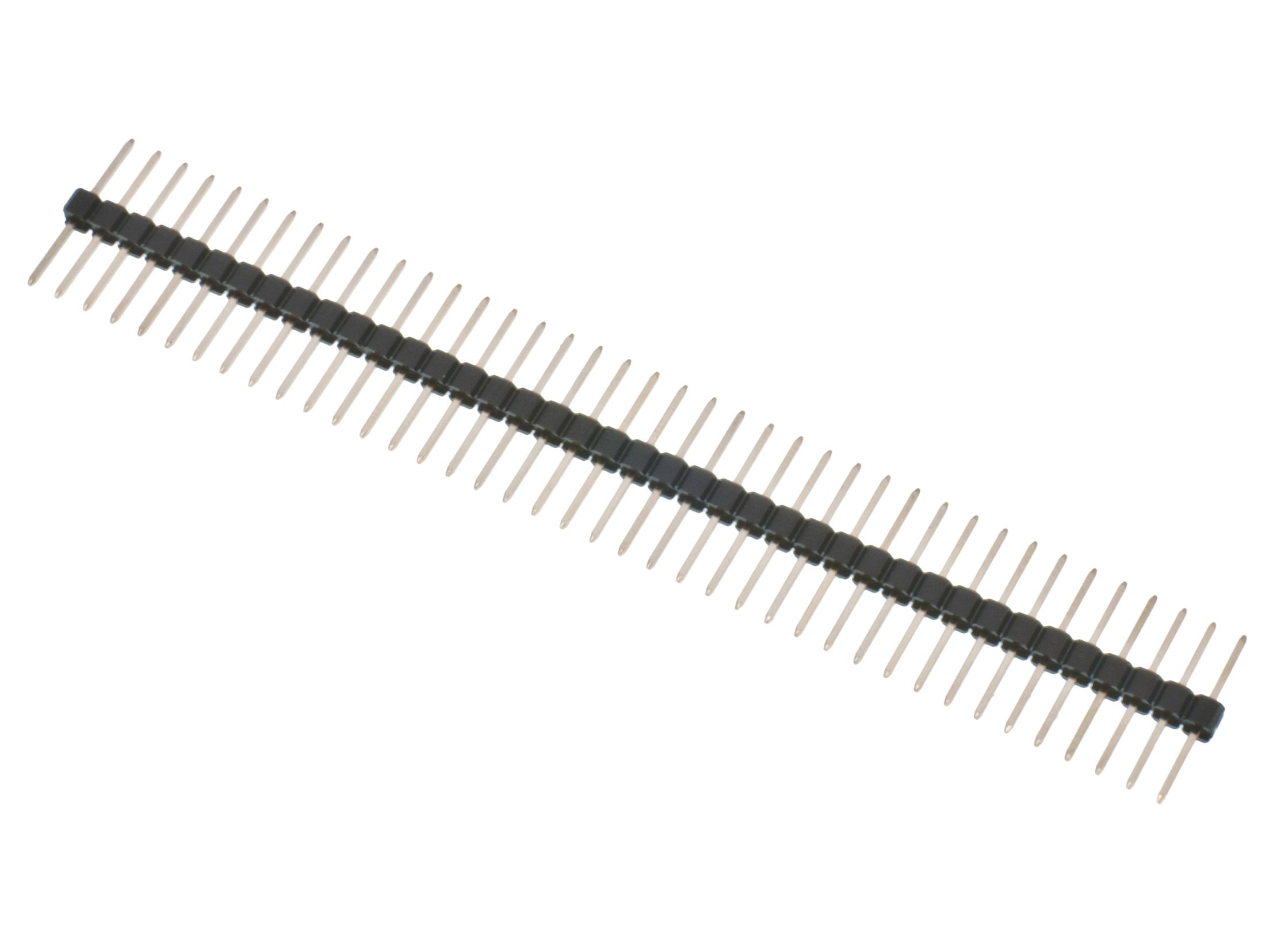 Buy Pin Header 2 54mm 1x40p Long Pins At The Right Price