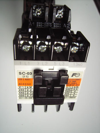 electrical wiring and installation of direct on line  dol