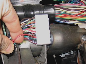 wire to be cut