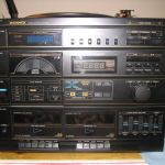 stereo, front