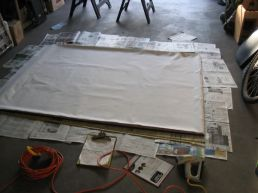 frame and drape lining