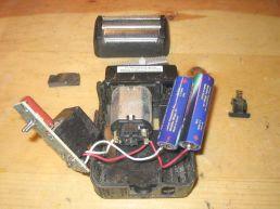razor w/ new batteries