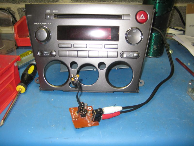 audio adapter in-system