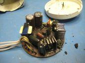 charred components
