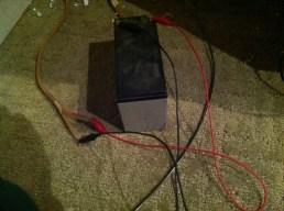 Battery applied