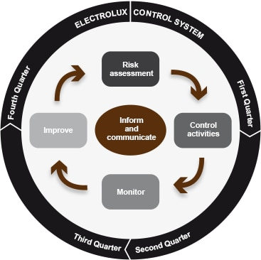 Internal control over financial reporting - Electrolux ...