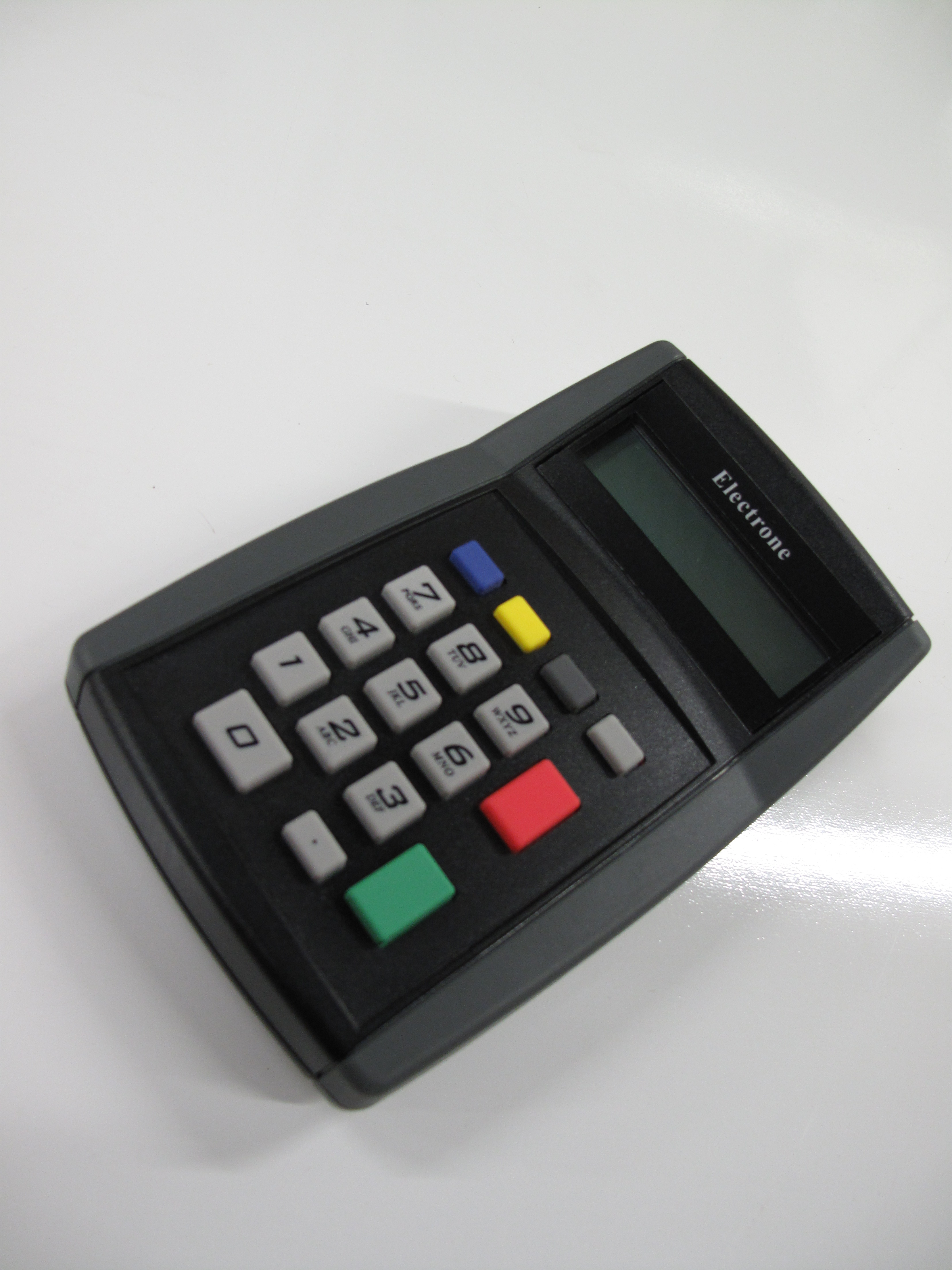 Solutions, Solutions, Solutions: Available connections for the Electrone 735 keypad with display – TCP/IP – PoE; USB VCP or HID and Serial/RS232