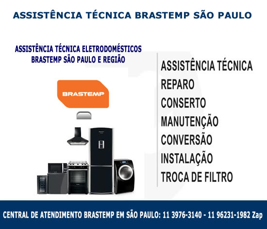 Assistência técnica Brastemp São Paulo