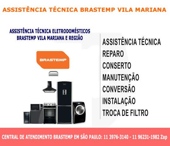 Assistência técnica Brastemp Vila Mariana