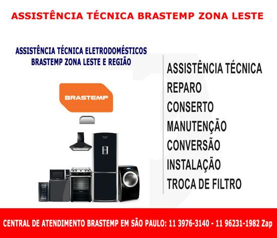 Assistência técnica Brastemp Zona Leste
