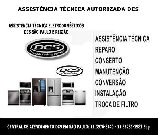 Assistência técnica autorizada dcs