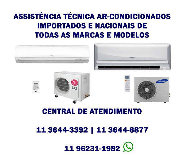 assistência técnica ar condicionados importados e nacionais