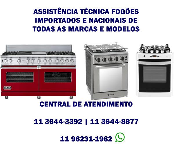 assistência técnica fogões