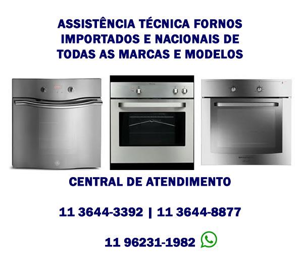 assistência técnica fornos