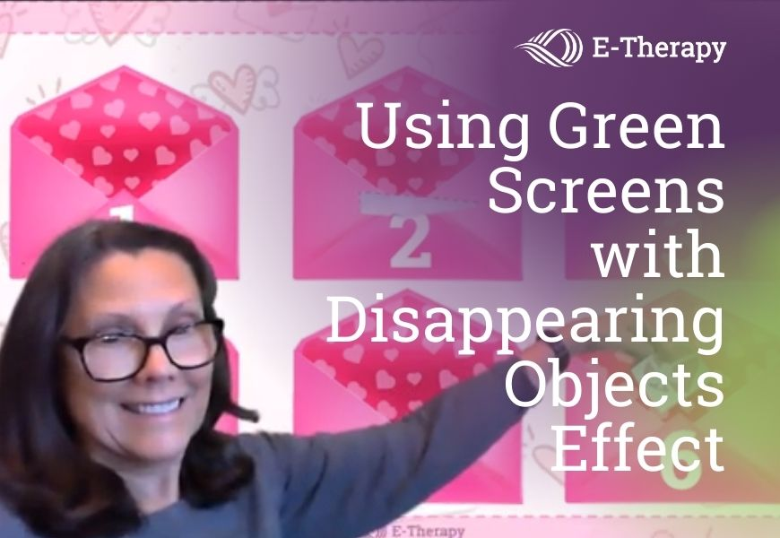 Using Green Screens with Disappearing Objects Effect