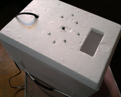 Proyecto incubadora de huevos casera