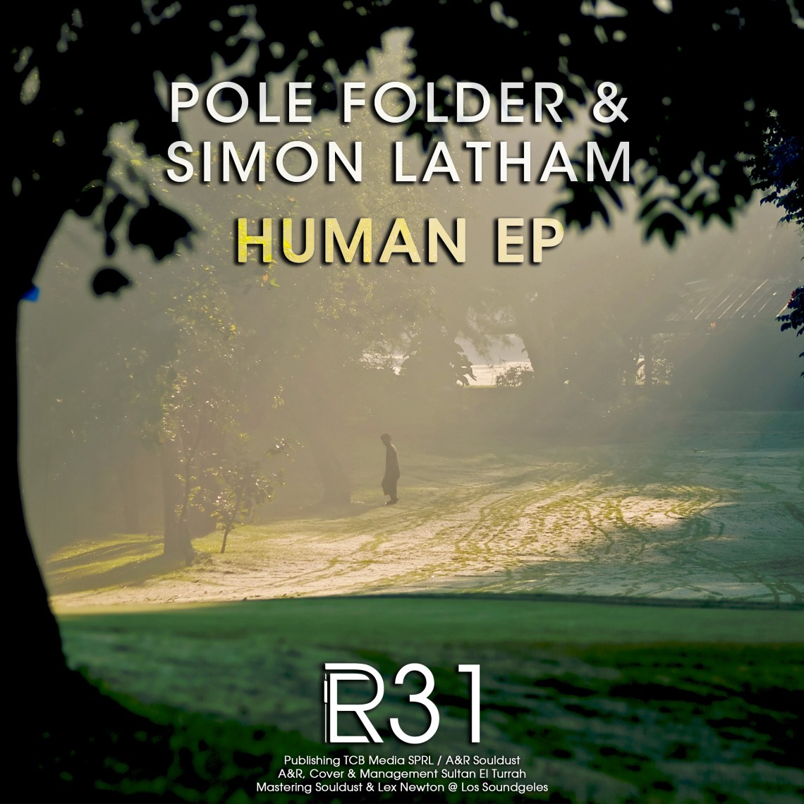 ER031 - Pole Folder & Simon Latham - Human EP (incl. GusGus Remix) - Electronical Reeds