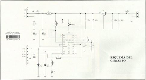 Alarma GSM esquema