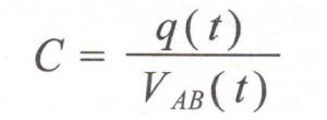 Formula Capacidad