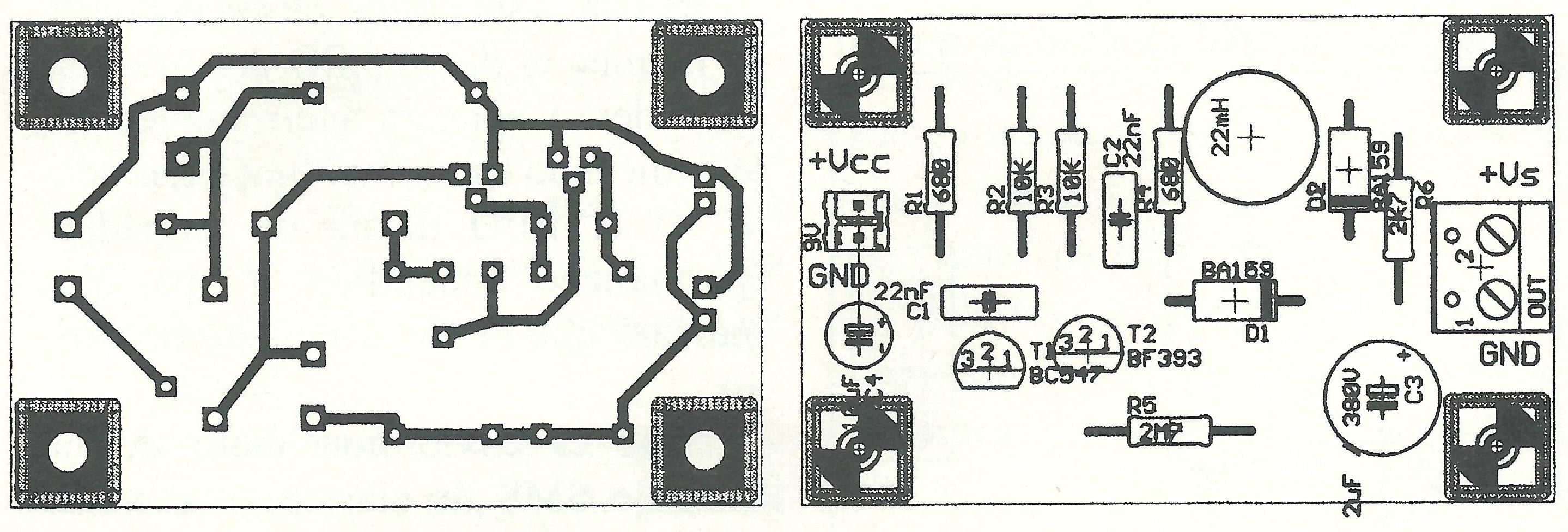 Medidor Comprobador De Zener Y Varistores Hasta 140v Blog Led Circuito Basado Probador Transistores Serigrafia