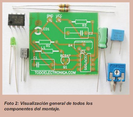 Componentes del circuito