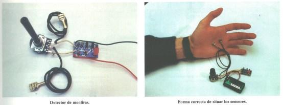 kit 30 detector de mentiras