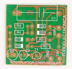 Placa del circuito