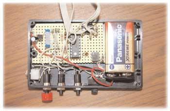 Foto 2.- Vista general de la placa con los componentes