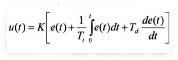 Regulador ecuación 1