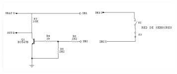 Fig 2. Circuito sensores