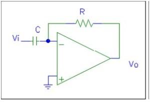 Amplificador Diferenciador