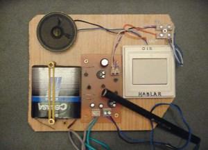 MONTAJE / Amplificador de audio para pila de 4,5V y altavoz de 8W