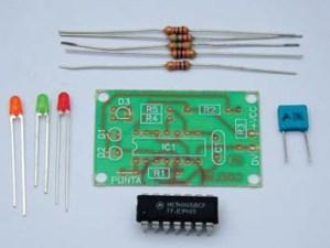 KITS / La electrónica digital: fabricación de una Punta Lógica Digital
