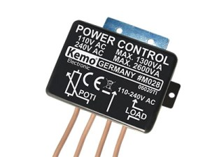 MODULOS / Regulador de Potencia 110 – 240 V