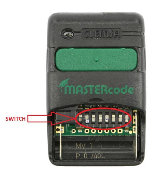 Como copiar un mando de garaje qu mando de garaje - Mandos a distancia garaje ...