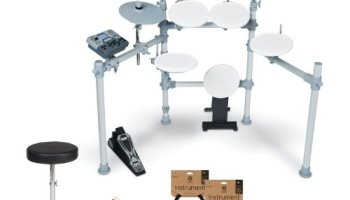 KAT Percussion KT2 5-Piece Advanced Electronic Drum Kit | Electronic
