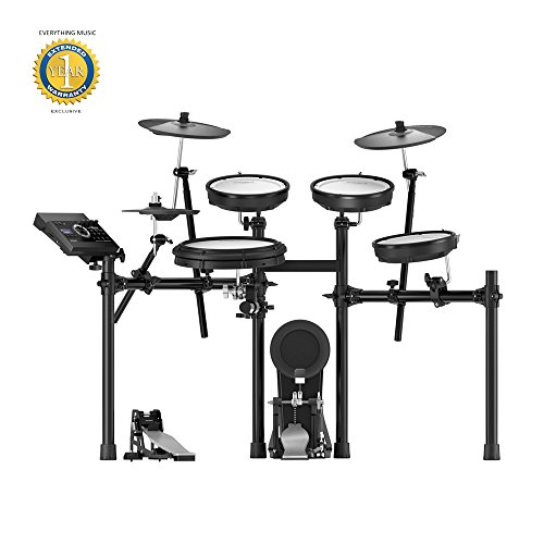 Roland TD-17KV V-Drums Electronic Drum Set with Microfiber