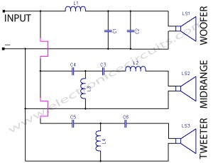 Crossover Network | Electronic Circuits