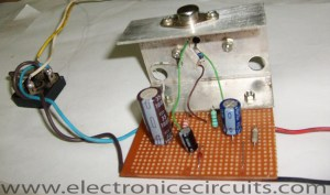 Low Ripple Power Supply Circuit Diagram | Electronic Circuits