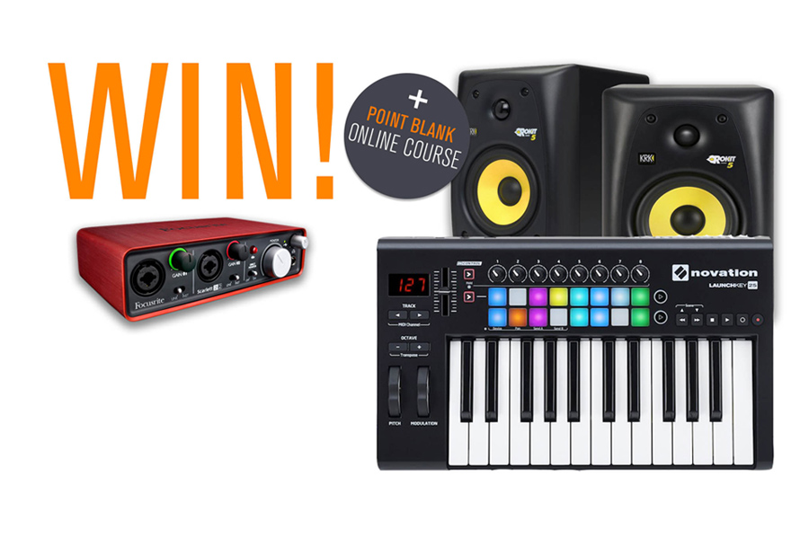 Subscribe To Point Blank Music To Win A Novation Producer Pack!