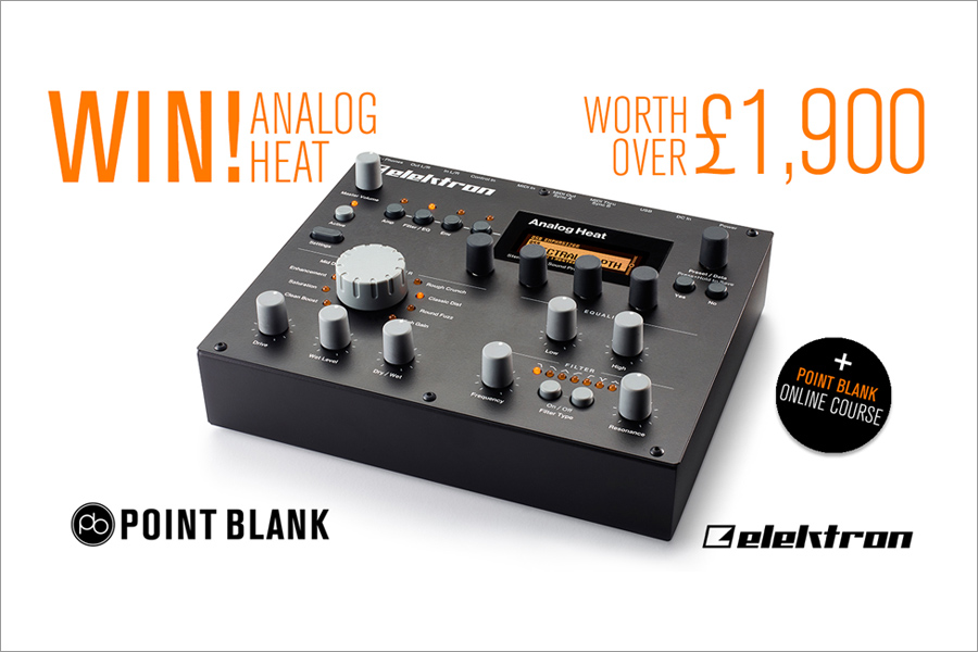 Register With Point Blank And Win An Analog Heat And Online Course!