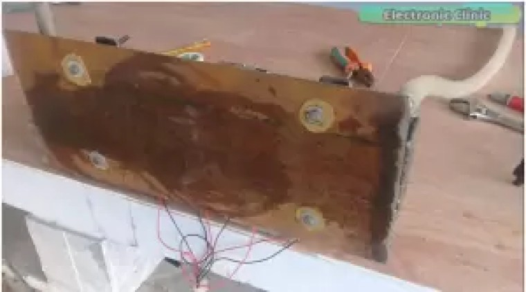 DIY Peltier based Air conditioner making Electronic Clinic