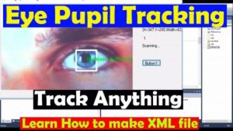 Arduino image processing Eye Pupil Tracking, how to make XML file