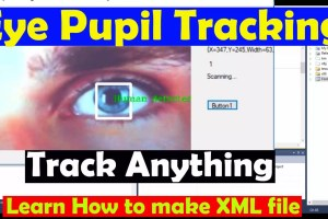 eye pupil tracking