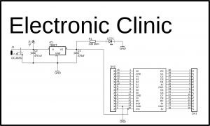 Power supply for Nodemcu esp8266 wifi module, circuit diagram