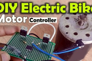 Electric Bike Motor Controller