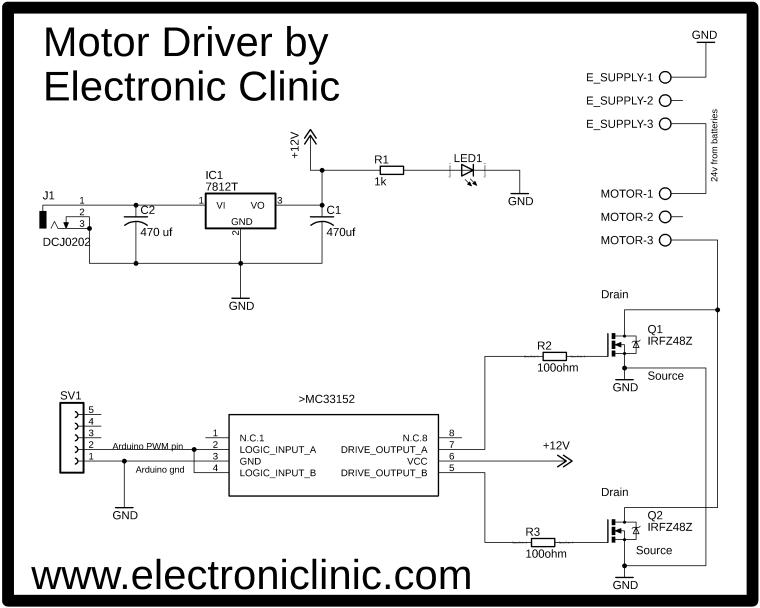 How To Make Electric Bike Motor Controller Using Arduino