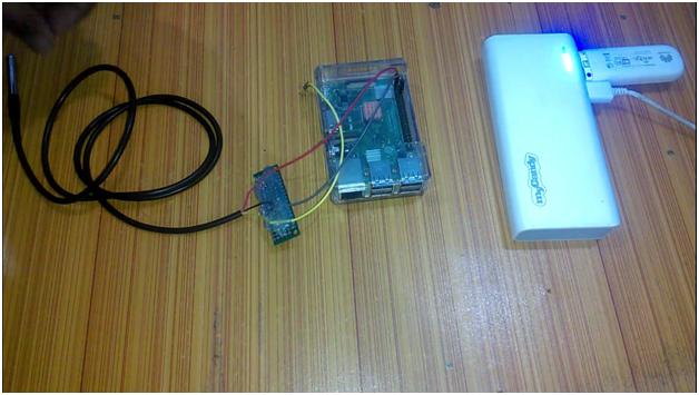 Raspberry Pi DS18B20 Temperature Sensor & Text file