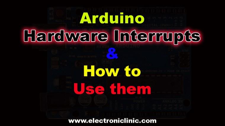 Arduino Hardware Interrupts