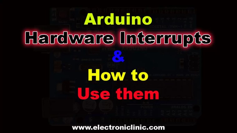 Arduino Hardware Interrupts